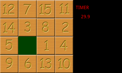 Classic Number Puzzle Game - rfobasic
